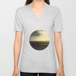 If you spend your whole life waiting for the storm, you'll never enjoy the sunshine Unisex V-Neck