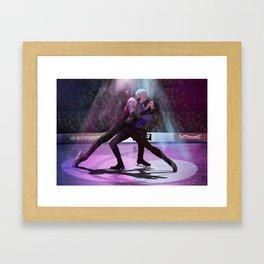 Yuri on ICE final skate Framed Art Print