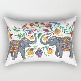 2 Elefanten Rectangular Pillow