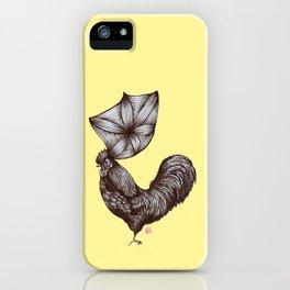 Hen's 3D hair iPhone Case