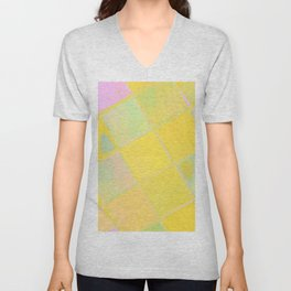 Re-Created Mirrored SQ LXIV by Robert S. Lee Unisex V-Neck