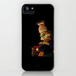 Kathakali in night lights - 134 iPhone Case