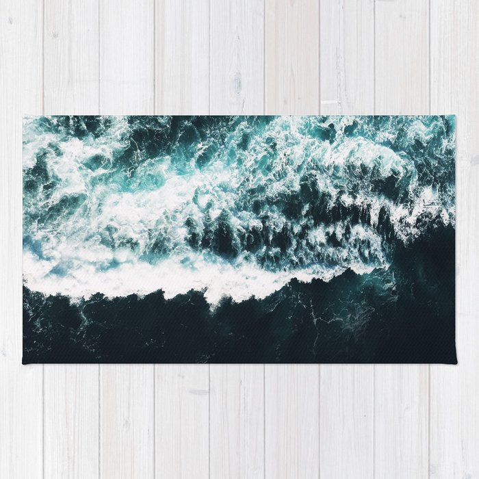 Oceanholic #society6 #decor #buyart Rug