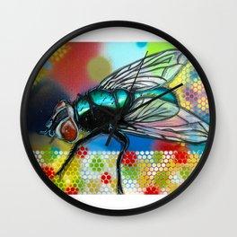 Fly 1 Wall Clock