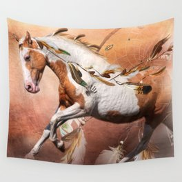 Flying Feathers Wall Tapestry