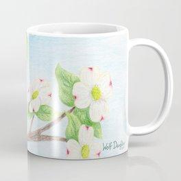 Goldfinches in Dogwood Coffee Mug