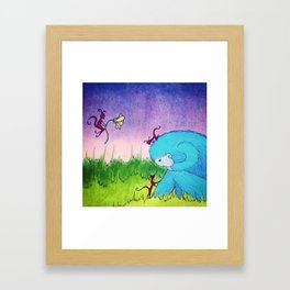 He Thought The Stars Went Out Framed Art Print