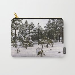 Calm Snow Scene Carry-All Pouch