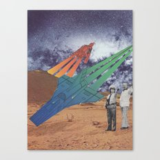 Space Dirt Canvas Print
