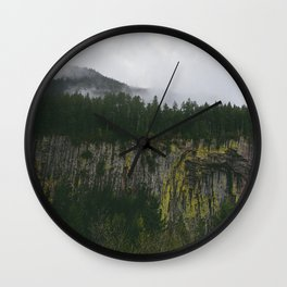 Landscape, Gifford-Pinchot national forest Washington Wall Clock