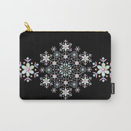 Snowflake Mandala Carry-All Pouch