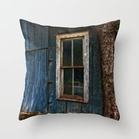 number Throw Pillows featuring Number 34 by Mark Alder