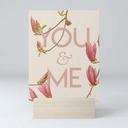 You and Me Mini Art Print