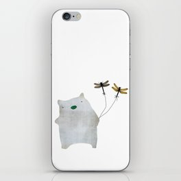 Bear and friends iPhone Skin