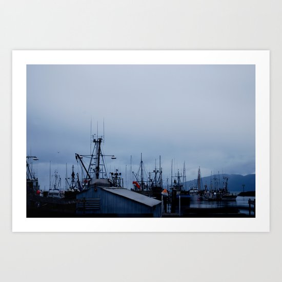 Harbor Art Print
