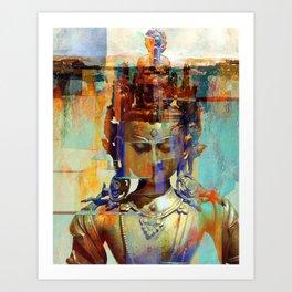 Dakini Wisdom Goddess #5 Art Print