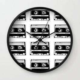 Retro Jams Wall Clock