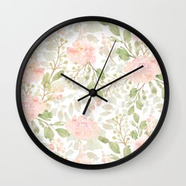 Oh! It's Blooming Floral Pattern Vol 2 Wall Clock