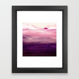 Ultra Violet Day Framed Art Print