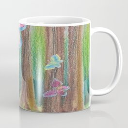 Butterfly Forest II Coffee Mug