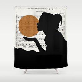 Music in the sun Shower Curtain