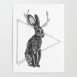 Jackalope - Spirit Animal Poster