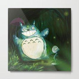 TotoroMeetLuxo Metal Print