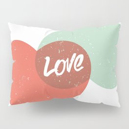 Two lovely hearts Pillow Sham