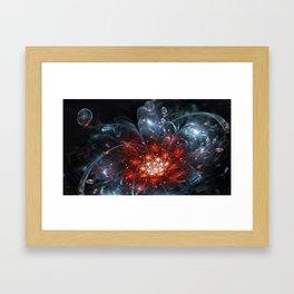 Just a splash Framed Art Print
