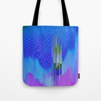 waterfall Tote Bags featuring Waterfall by DuckyB