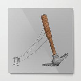 end of hammer dictatorship Metal Print