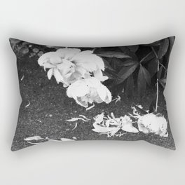 Let the Petals Fall Rectangular Pillow
