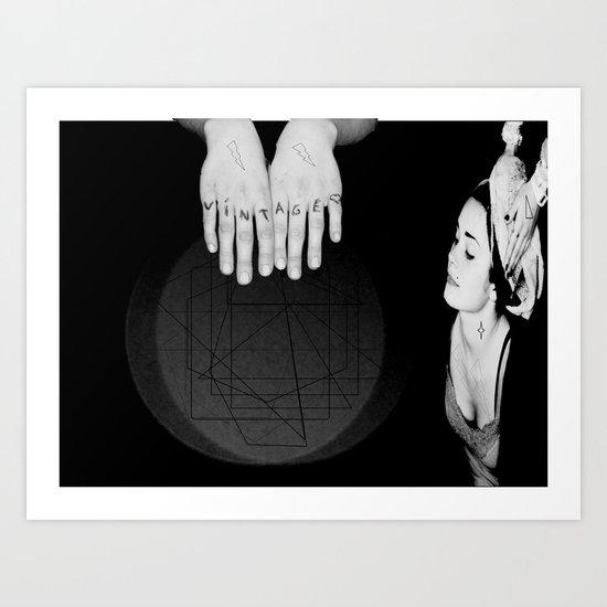 Boby's Hands Art Print