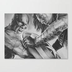 captain vs soldier Canvas Print