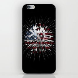 Joshua Tree Americana by CREYES iPhone Skin