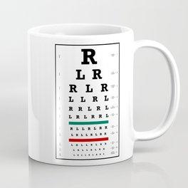 Drummers Eye Chart Coffee Mug