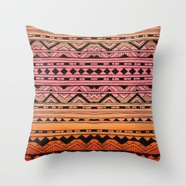 Surf Tribe Throw Pillow