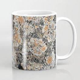 Lichen on the granite rock Coffee Mug