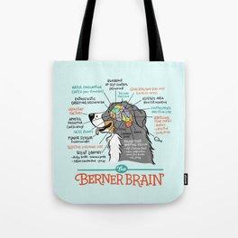 Berner Brain - Blue Tote Bag