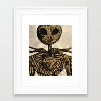 jack skellington Framed Art Prints featuring jack skellington by TwistedPalace