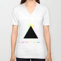 floyd V-neck T-shirts featuring Pink Floyd by sgrunfo