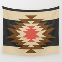 youtube Wall Tapestries featuring Aztec 1 by Aztec
