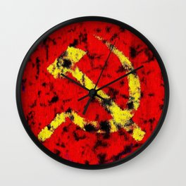 The Hammer and The Sickle Wall Clock