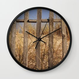 Fence to the Sky! Wall Clock