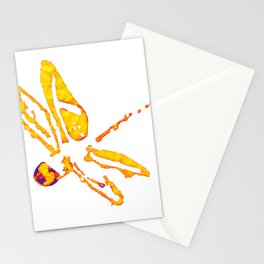 Dragonfly an insect fully inspiring Stationery Cards