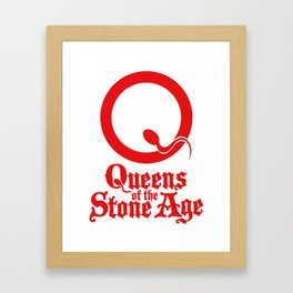 Queens Of The Stone Age Framed Art Print