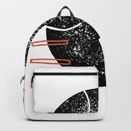 Abstract shapes and lines Backpack