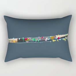 Sparkling river Rectangular Pillow