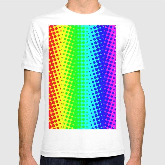 RAINBOW COLOR DOT T-shirt