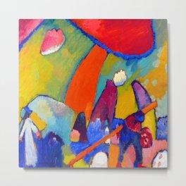 Wassily Kandinsky Landscape Metal Print